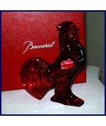 BACCARAT CRYSTAL ZODIAC ROOSTER RUBY *** - $225.00