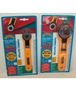 Olfa Standard Rotary Fabric Cutter Set of Two  - $19.99