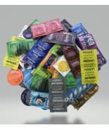 50 Lifestyles, Crown, Atlas, NuVo, & More Condoms Variety Pack - $10.50