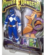 "Mighty Morphin Power Rangers : BLUE DINO FLYER 4"" Power Ranger : NISP : ... - $37.49"