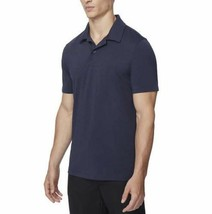 NEW 32 Degrees Men's Performance Polo, Stormy Night Blue image 2