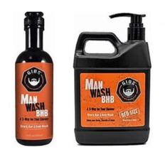 GIBS Grooming Man Wash BHB (Beard, Hair and Body)  image 2