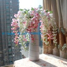 1PCS Artificial Wisteria Silk Flower Home Wedding Bouquet Party Decorati... - $4.50