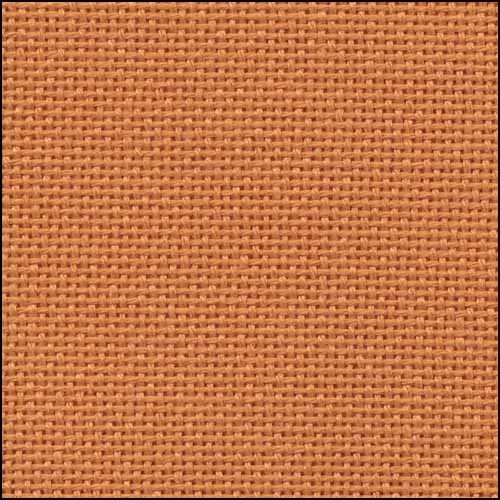 Primary image for 25ct Orange Lugana evenweave 36x55 cross stitch fabric Zweigart