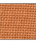 25ct Orange Lugana evenweave 36x27 cross stitch... - $24.30