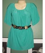 BREEZY Soft Knit Short Sleeve Tunic NWT - $9.99