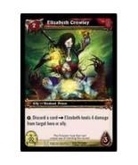 World Of Warcraft ELIZABETH CROWLEY Drums Of War 166 - $0.19