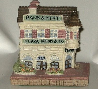 Americana Collection Clark Dubois Bank NIB 1992 Mini