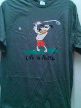 Man's Delta hunter green brand new golf t shirt XL  - $9.00