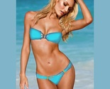 Video short bandeau bikini swimsuits puts