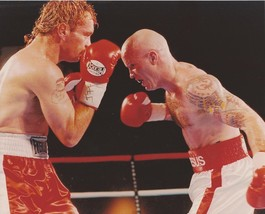 Angel Manfredi 8X10 Photo Boxing Picture Ring Action - $3.95