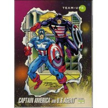 1992 Marvel Universe Series 3 Captain America And U.S. Agent #83 - $0.20