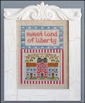 Land Of Liberty cross stitch chart Country Cottage Needleworks - $7.20