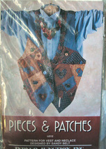 "Pattern 312 ""Pieces & Patches"" Misses Over Size... - $4.99"