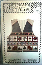 "Patterrn113 ""Scraps of Time"" Vest - Paper Pieced Quilting - $4.99"
