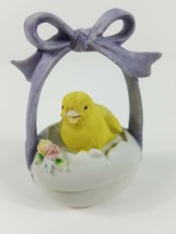 Geo Z Lefton Chick Bird Easter Trinket Box Egg 2 Piece Daughter Mom Gift Spring - $84.15