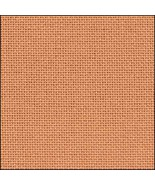 32ct Orange Clementine Lugana evenweave 36x55 c... - $48.60