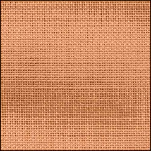 32ct Orange Clementine Lugana evenweave 36x27 cross stitch fabric Zweigart - $24.30