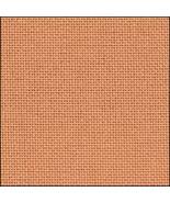 32ct Orange Clementine Lugana evenweave 18x27 c... - $9.45