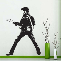 Elvis Vinyl Wall Art Decal (WD-0433) - $31.99