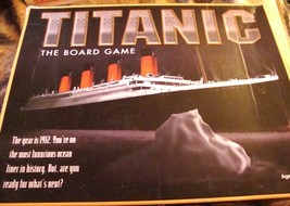 TITANIC THE BOARD GAME 1998 Version Universal Games -  Complete - $32.00