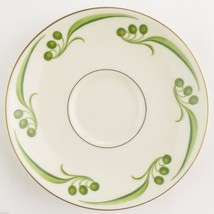 "Theodore Haviland China Bel Air Pattern Footed Cup Saucer 5.75"" Wide Tableware - $3.49"