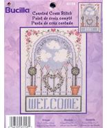 Welcome...Bucilla Counted Cross Stitch Kit - $7.00