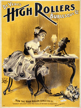 7937.Decoration Poster.Home Room wall fashion art design.High Rollers Victorian - $11.30+
