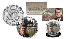 President KENNEDY JFK 100 Birthday 2017 Genuine JFK Half Dollar White House Lawn - $8.56