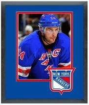 "Ryan Callahan 2013 New York Rangers - 11"" x 14"" Matted/Framed Photo - $42.95"
