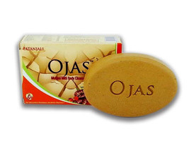 Divya Patanjali Herbal Ojas Multani Mitti Body Soap/Cleanser 75gm/2.6oz ... - $12.19