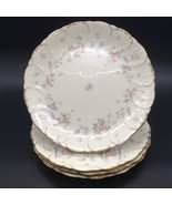 "4 pcs 10 5/8"" Mikasa Remembrance AB002 Ivory Bone China Japan Dinner Plates Lot - $71.78"