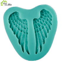 Silicone DIY 3D Small Wing Mold Fondant Chocolate Cake Decorating Mould ... - £1.85 GBP