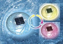 Color Changing Solar Floating Rainbow Light - $24.08