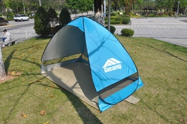 new style beach tent pop up open 1-2person quick automatic opening 90% U... - $60.60