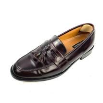 BOSTONIAN 25059 First Flex Burgundy Leather Tassel Dress Loafers Shoes 11M - $34.64