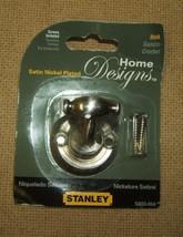 Stanley Hook Coat S803-064 Satin Nickel Plated - $2.84
