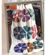 54 Stunning Afghans Crochet Patterns HC Book~Dresden Plate, Roses, Baby + - $29.99