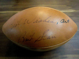 BART STARR BEST WISHES PACKERS HOF SIGNED AUTO 1960'S WILSON ROZELLE BAL... - $692.99