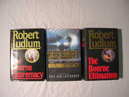 Robert Ludlum - Jason Bourne - Supremacy, Legacy, Ultimatum - First Edit... - $9.99
