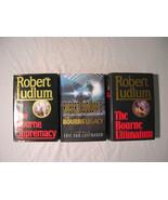 Robert Ludlum - Jason Bourne - Supremacy, Legacy, Ultimatum - First Edit... - $9.99