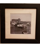 Beautiful Original B&W Photo of Rockport Harbor with famed Motif Number 1 - $35.99