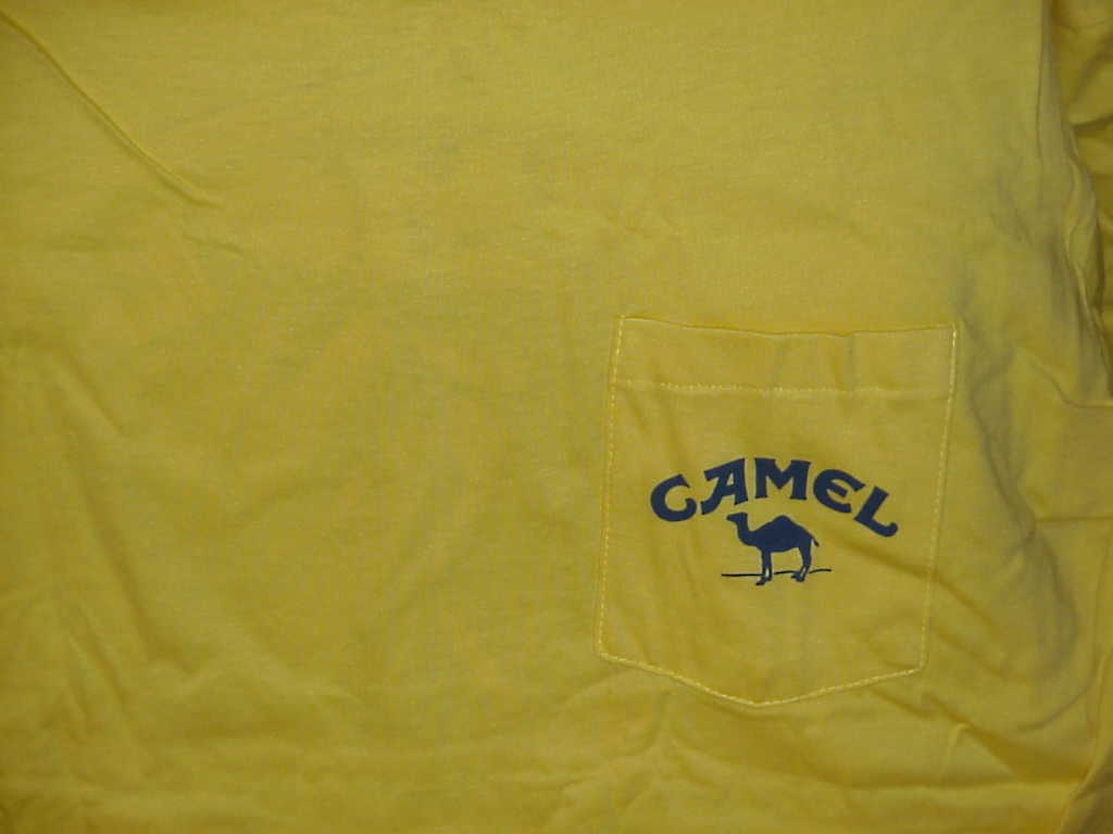 Camel Smooth Character T-Shirt 1989