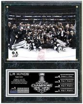 """Los Angeles Kings 2014 NHL Stanley Cup® Champions 15""""x12"""" Plaque - $42.95"""