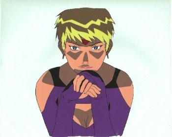 "Neo Ranga ""Unknown Woman"" Anime Cel * NEORANGA (0017)"