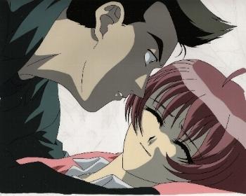 "Neo Ranga ""Ushio Shimabara & Guy"" Anime Cel * NEORANGA (0029"