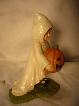 Bethany Lowe Halloween Little Ghost Gabby with Pumpkin no. TD7628 image 4