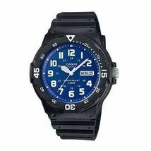 Casio MRW-200H-2B2  Analog Men's Blue Dial Black Resin Day Date Quartz W... - $22.17 CAD