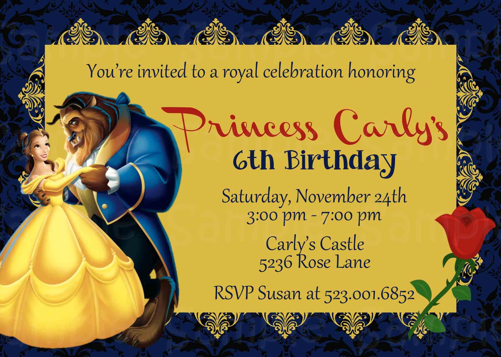 beauty and the beast birthday baby shower and 50 similar items