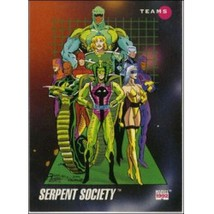 1992 Marvel Universe Series 3 Serpent Society #183 - $0.20
